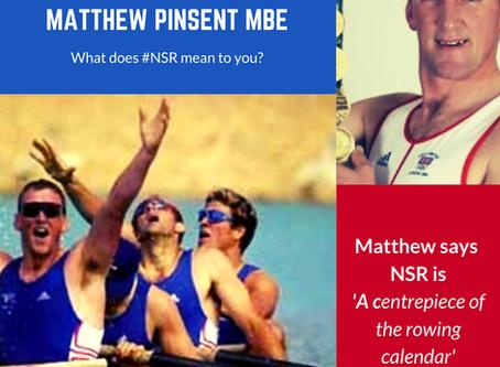 Matthew Pinsent MBE #NSRmemories
