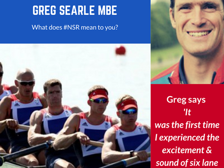 Greg Searle MBE #NSRmemories