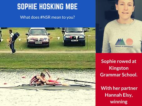 Sophie Hosking MBE #NSRmemories