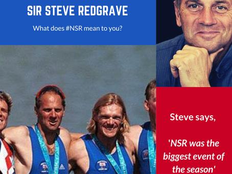 Sir Steve Redgrave #NSRmemories
