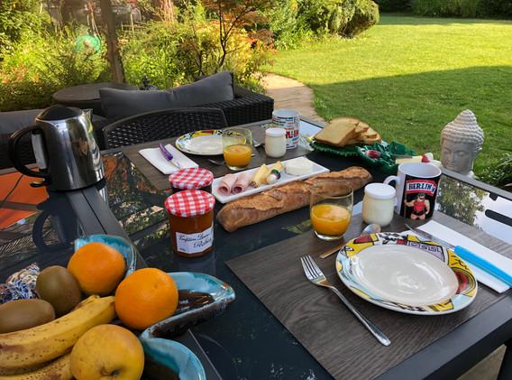Petit-déjeuner continental à toute heure