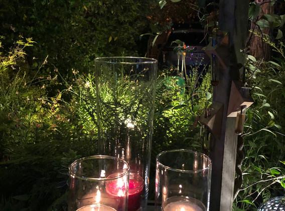 La terrasse, une soirée d'été