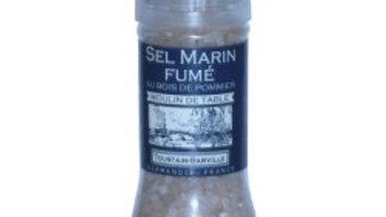 SEL MARIN FUME MOULIN AU BOIS DE POMMIER 100G