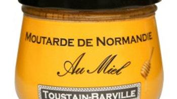 MOUTARDE DE NORMANDIE AU MIEL 260G