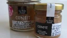 Confit à l'Oignons de Roscoff AOP au Pommeau de Bretagne  -  110g