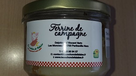TERRINE DE CAMPAGNE (0.180kg)
