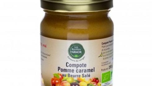 Compote Pomme Caramel au Beurre Salé 250gr BIO