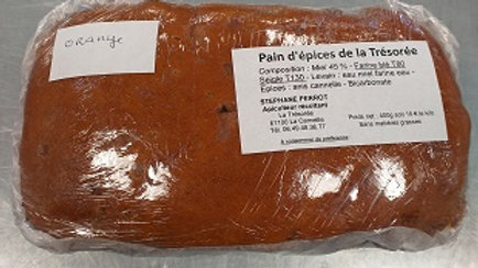 "PAIN D'ÉPICES ""orange"" 400g"