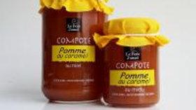 Compote Pomme Caramel au Miel - 100g