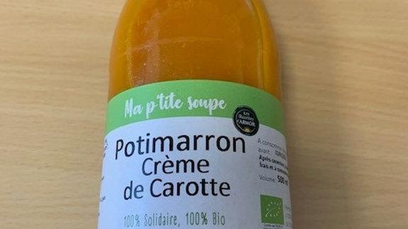 Ma P'tite soupe Potimarron Crème de Carotte 500ml