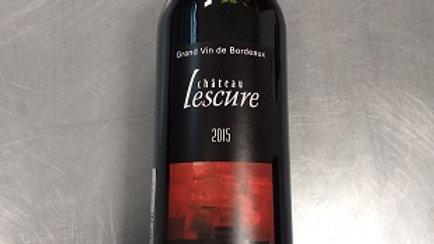Château Lescure Cadillac rouge 2015 - 0.75cl