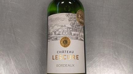 Château Lescure Blanc sec 2018 - 0.75cl