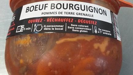 BŒUF BOURGUIGNON  POMMES DE TERRE GRENAILLE 375G