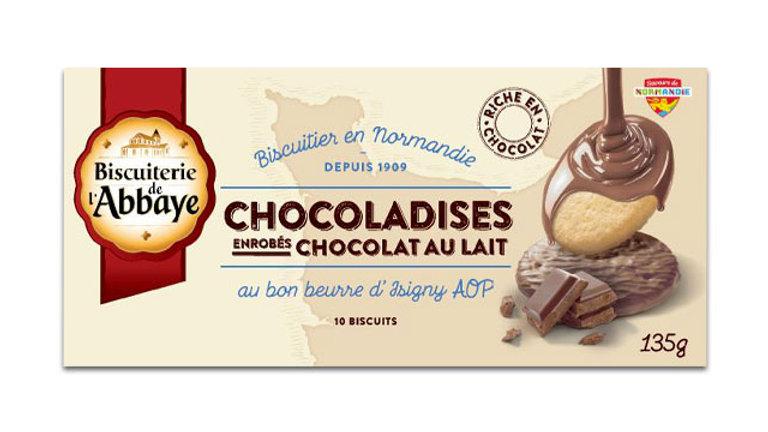 CHOCALADISES - chocolat au lait - 135g
