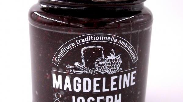 CONFITURE FRAMBOISE PAIN D'EPICES 240GR magdeleine&joseph