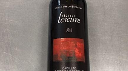 Château Lescure Cadillac rouge 2014 - 0.75cl
