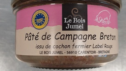 PATE DE CAMPAGNE BRETON A L'ANCIENNE IGP 130G