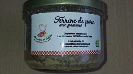 TERRINE DE PORC AUX POMMES (0.180kg)