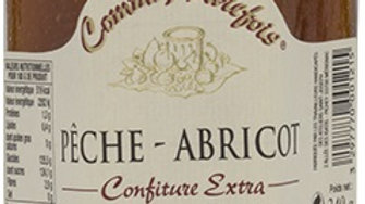 CONFITURE PECHE ABRICOT 340GR comme autrefois