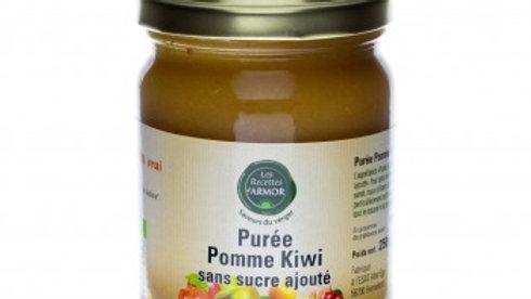 Purée Pomme Kiwi sans sucre ajouté 250gr BIO