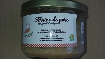 TERRINE DE PORC AU PONT L'ÉVÊQUE (0.180kg)