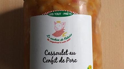 CASSOULET AU CONFIT DE PORC 0.800 KG