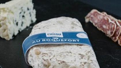 Saucisson sec au Roquefort 220gr