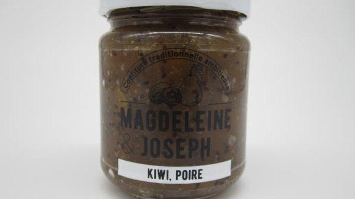 CONFITURE KIWI POIRE 240GR magdeleine&joseph