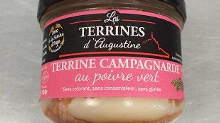 TERRINE DE CAMPAGNARDE POIVRE VERT 190G