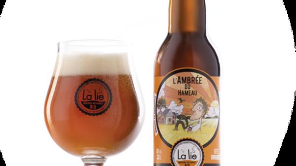 Bière BIO - L'ambrée du hameau 33cl