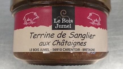 TERRINE DE SANGLIER AUX CHÂTAIGNES 130G