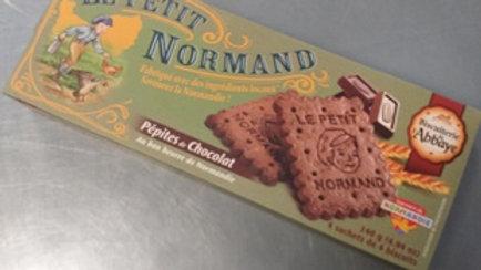 LE PETIT NORMAND PÉPITES DE CHOCOLAT 140G