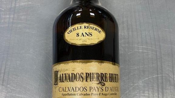 """Calvados AOC pays d'Auge """"vieille réserve 8 ans"""" 70cl"""
