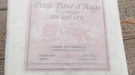 PETIT PAVE D'AUGE FERMIER AU LAIT CRU 350GR