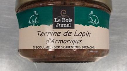 TERRINE DE LAPIN D'ARMORIQUE 130G
