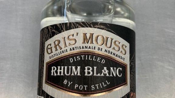 """RHUM  BLANC """" Gris'mouss""""70cl"""