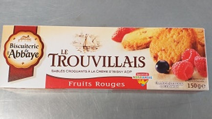 TROUVILLAIS FRUITS ROUGES 150G