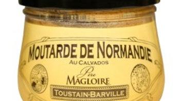 MOUTARDE DE NORMANDIE AU CALVADOS 260G