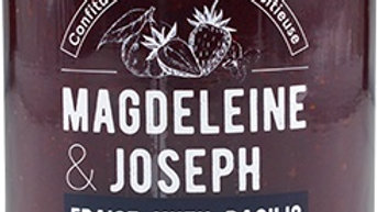 CONFITURE FRAISE YUZU BASILIC 240GR magdeleine&joseph