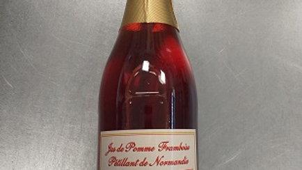 JUS DE POMME-FRAMBOISE PÉTILLANT 0.75CL