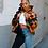 Thumbnail: Camouflage  Winter Jacket Women 4XL Plus Size