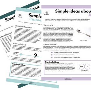 Simple ideas about...