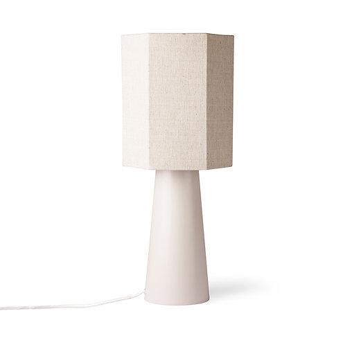 cone lamp base m matt skin - white