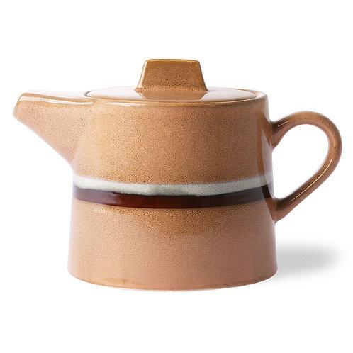 Ceramic tea pot, 70s ceramics,  HK LIVING ACE6881