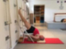 yoga kurunta, yoga with ropes, iyengar yoga wall ropes david , south africa