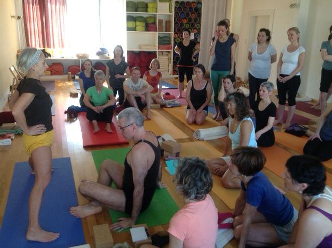 BKS Iyengar Yoga Centre, David Jacobs