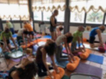 Iyengar yoga with David
