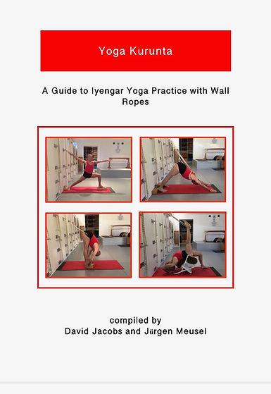 yoga kurunta, practice guide with wall ropes, david jacobs