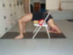 block for yoga practice, iyengaryogawithdavid