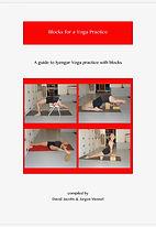 Iyengar yoga practice with blocks
